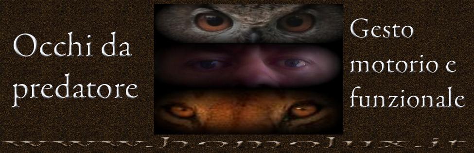 gesto motorio e funzionale occhi da predatore