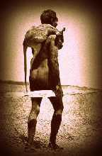 uomo savana