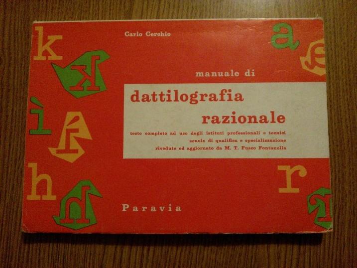 Carlo Cerchio - Dattilografia