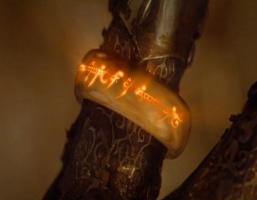 il signore degli anelli - l'anello