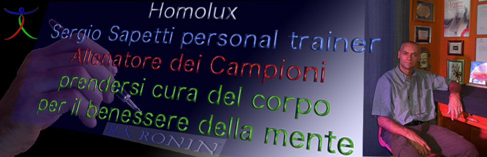 homolux sergio sapetti personal trainer