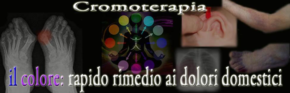 cromoterapia il colore rimedio dolori domestici