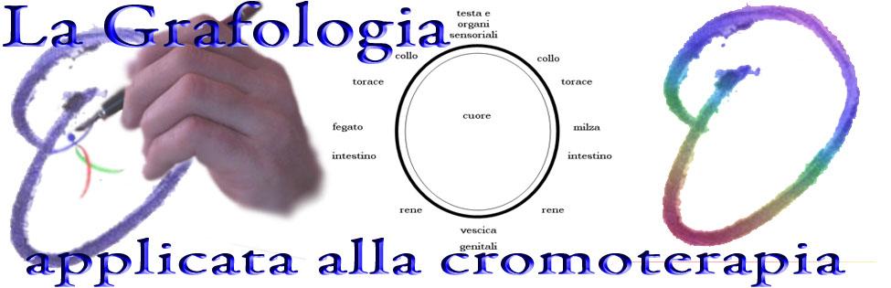 grafologia e cromoterapia
