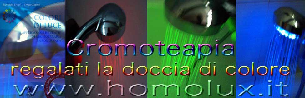 cromoterapia doccia