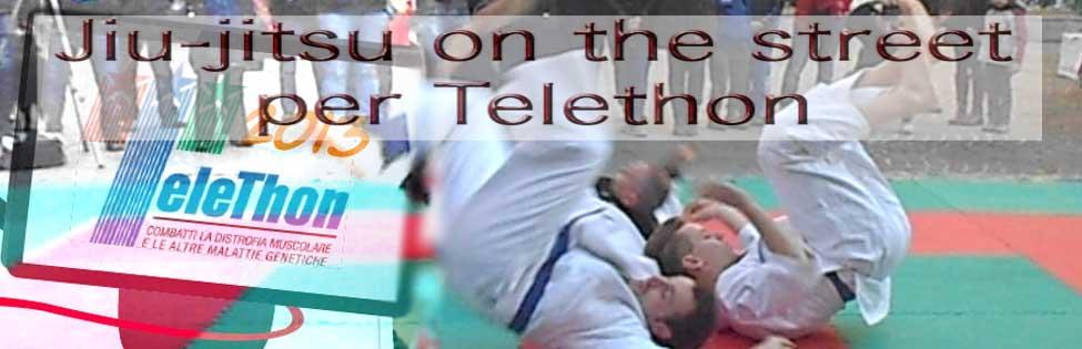 jiu-jitsu per telethon