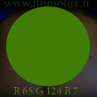 cromoterapia verde scuro