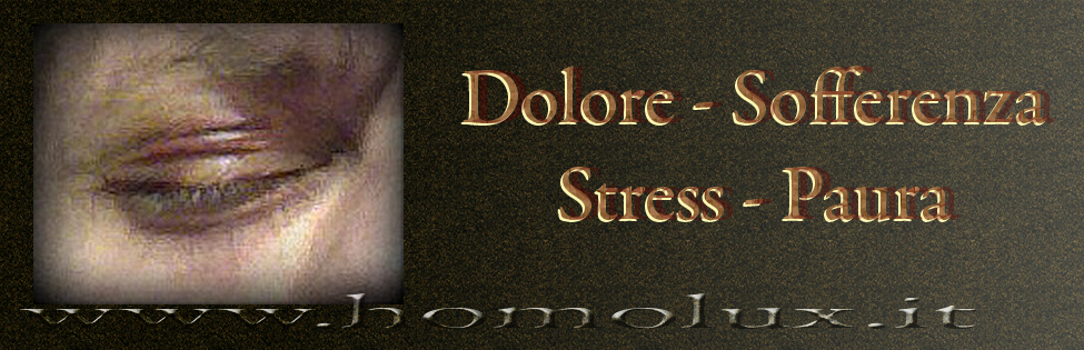 dolore sofferenza stress paura