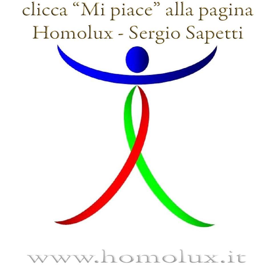 clicca mi piace alla pagina facebook di homolux sergio sapetti 2