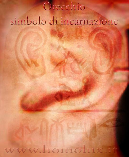 orecchio simbolo di incarnazione