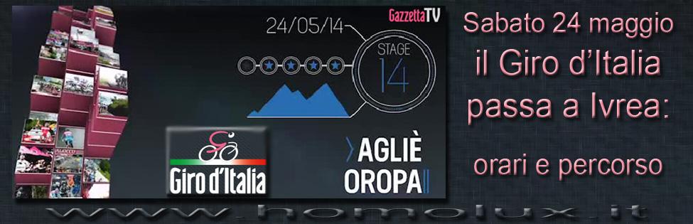 14 tappa giro d'italia Agliè - Oropa