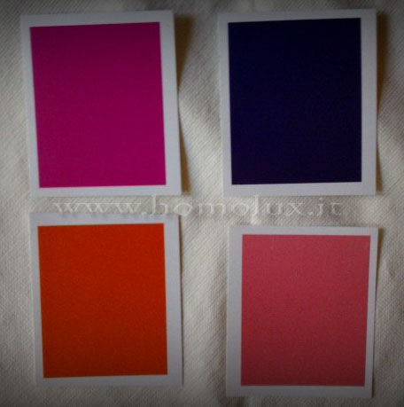 colori di luscher per test amore