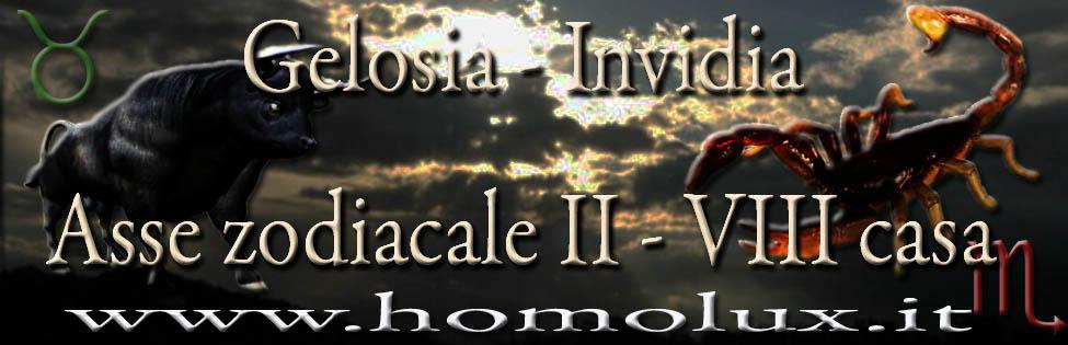 gelosia invidia asse zodiacale II - VIII casa