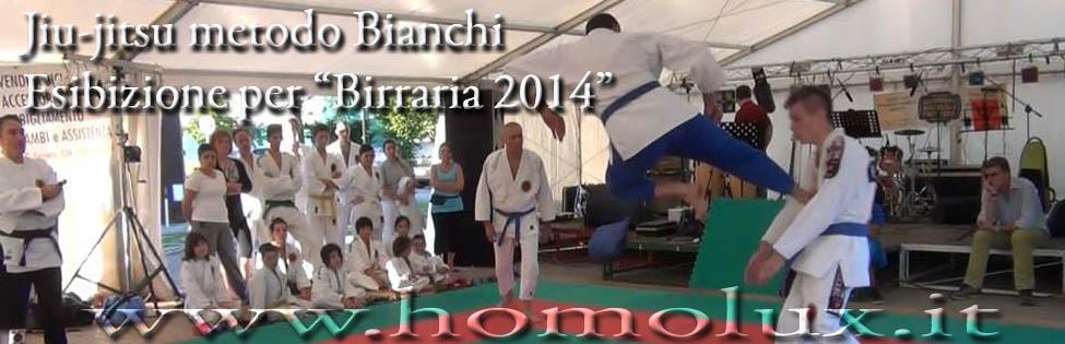 jiu jitsu metodo bianchi esibizione birraria 2014