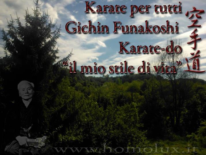 karate per tutti gichin funakoshi