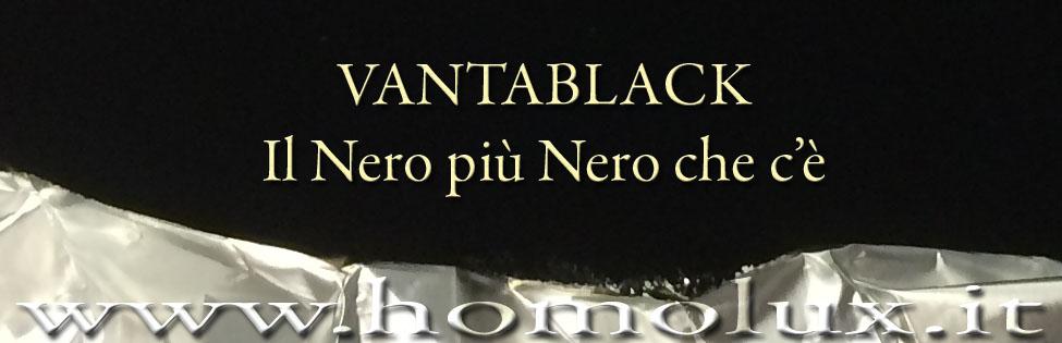 vantablack il nero più nero che c'è