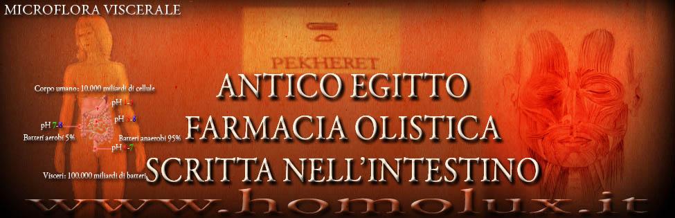 antico egitto farmacia olistica scritta nell'intestino