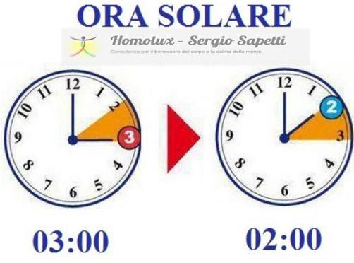 ora solare - legale
