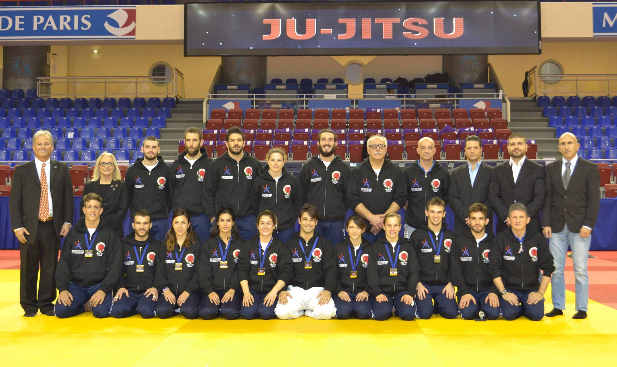 team italia jujutsu paris 2014