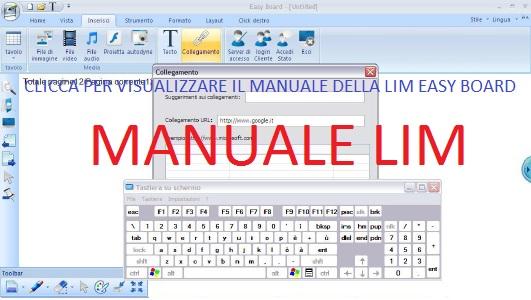 CLICCA MANUALE LIM