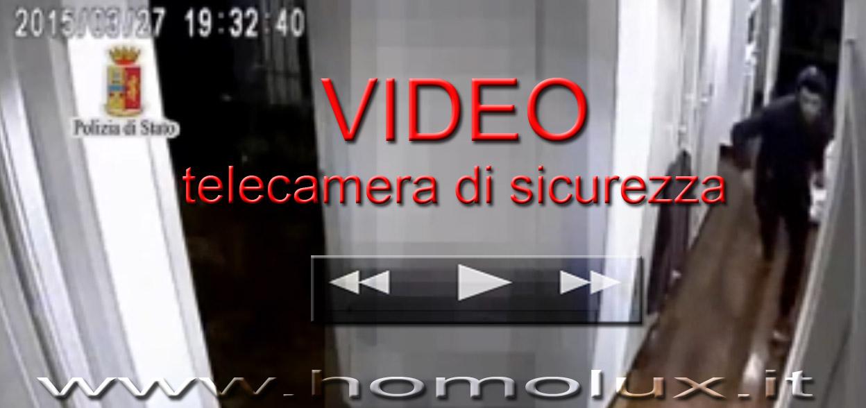 video rapina telecamera di sicurezza