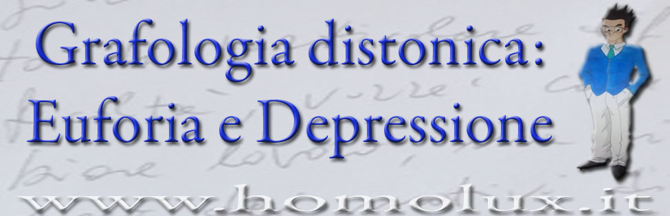 grafologia distonica depressione ed euforia