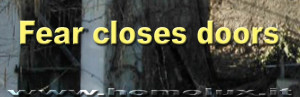 fear close doors