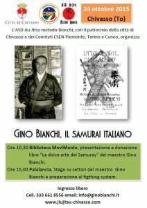 gino bianchi il samurai italiano