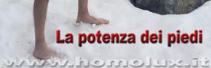 la potenza dei piedi