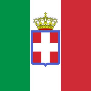 bandiera dell'esercito regio