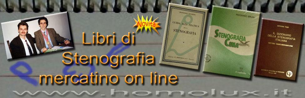 Libri di Stenografia – mercatino on line