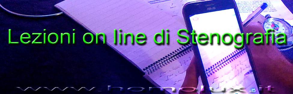 Lezioni on line di Stenografia