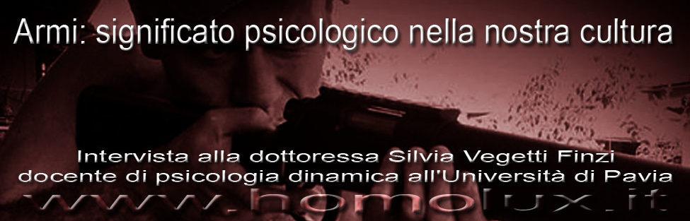 Armi: significato psicologico nella nostra cultura