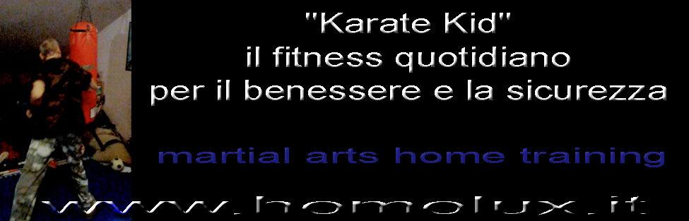 """""""Karate Kid"""" il fitness quotidiano per il benessere e la sicurezza"""