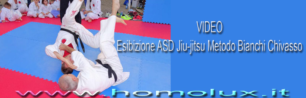 VIDEO – Esibizione ASD Jiu-jitsu metodo Bianchi Chivasso 柔術